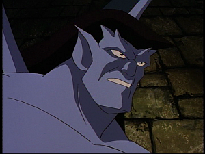 Disney Gargoyles - the Gathering - goliath decides