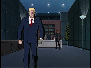 Disney Gargoyles - the Gathering - owen walks out on xanatos