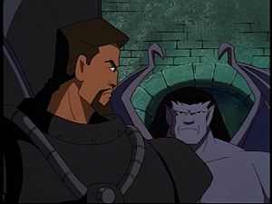 Disney Gargoyles - the Gathering part 2 - goliath reinforces xanatos