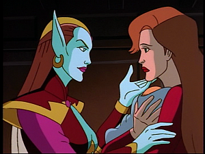 Disney Gargoyles - the Gathering part 2 - titania and fox