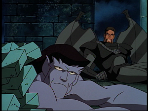 Disney Gargoyles - the Gathering part 2 - xanatos and goliath down