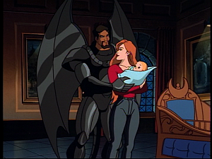 Disney Gargoyles - the Gathering part 2 - xanatos family