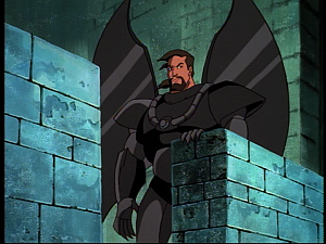 Disney Gargoyles - the Gathering part 2 - xanatos watches gargoyles leave
