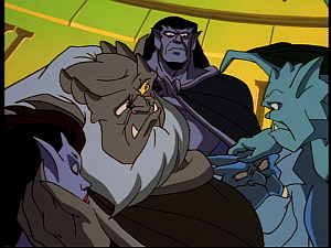 Disney Gargoyles - Hunter's Moon part 1 - angela hurt, clan worried