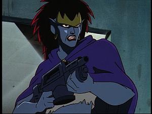 Disney Gargoyles - Hunter's Moon part 1 - demona rifle