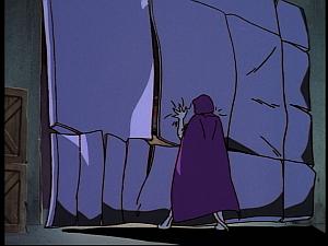 Disney Gargoyles - Hunter's Moon part 1 - demona rips door