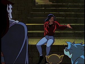 Disney Gargoyles - Hunter's Moon part 1 - elisa explains to clan