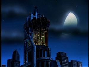 Disney Gargoyles - Hunter's Moon part 1 - eyrie building moon