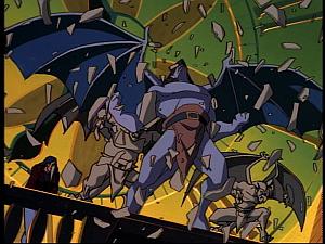 Disney Gargoyles - Hunter's Moon part 1 - goliath wakes up