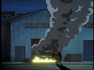 Disney Gargoyles - Hunter's Moon part 1 - warehouse blows