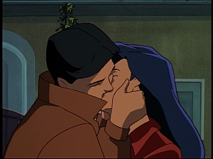 Disney Gargoyles - Hunter's Moon part 2 - elisa and jason kiss