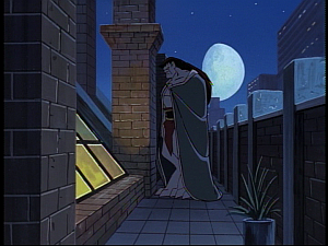 Disney Gargoyles - Hunter's Moon part 2 - goliath at window
