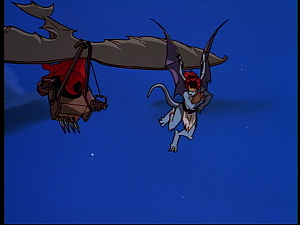 Disney Gargoyles - Hunter's Moon part 2 - hang glider