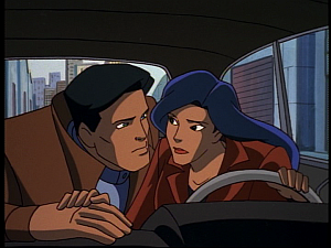 Disney Gargoyles - Hunter's Moon part 2 - jason and elisa car