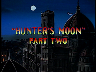 Disney Gargoyles - Hunter's Moon part 2 - title