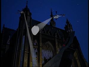 Disney Gargoyles - Hunter's Moon part 3 - choppers outside