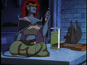 Disney Gargoyles - Hunter's Moon part 3 - demona ritual