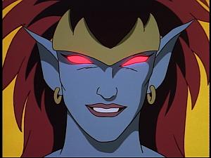 Disney Gargoyles - Hunter's Moon part 3 - demona smiles