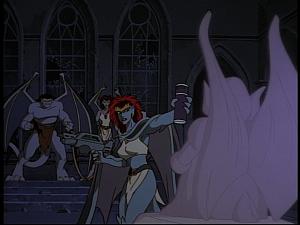 Disney Gargoyles - Hunter's Moon part 3 - demona virus vial
