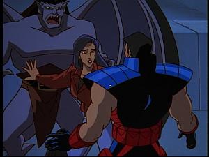 Disney Gargoyles - Hunter's Moon part 3 - elisa gets between goliath and jason