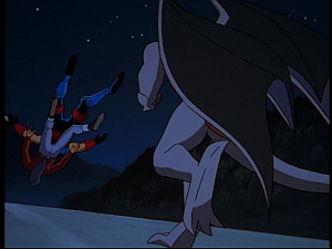 Disney Gargoyles - Hunter's Moon part 3 - elisa jason knocked off dam