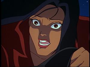 Disney Gargoyles - Hunter's Moon part 3 - elisa shocked unmasked jason