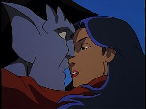 Disney Gargoyles - Hunter's Moon part 3 - goliath elisa kiss