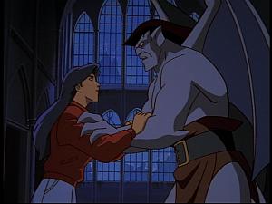 Disney Gargoyles - Hunter's Moon part 3 - goliath elisa reunite