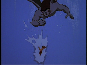 Disney Gargoyles - Hunter's Moon part 3 - goliath misses elisa