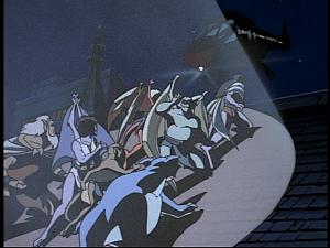 Disney Gargoyles - Hunter's Moon part 3 - xanatos chopper