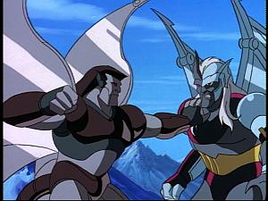 Disney Gargoyles - Possession - cold stone vs steel clan