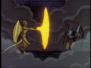 Disney Gargoyles - Possession - coldfire vs hudson