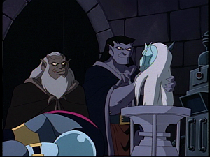 Disney Gargoyles - Possession - goliath with coldstone head