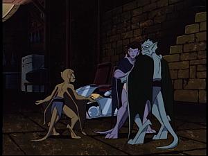 Disney Gargoyles - Possession - lex and couple
