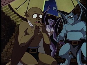 Disney Gargoyles - Possession - lex untied