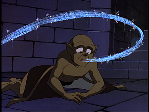 Disney Gargoyles - Possession - soul enters lex