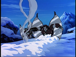 Disney Gargoyles - Possession - tunnel steel clan snow