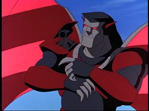 Disney Gargoyles - Possession - xanatos armor