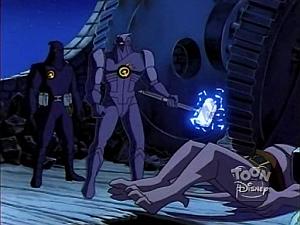 Disney Gargoyles - the Journey - goliath down