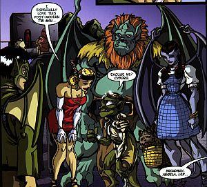 slg gargoyles - clan building 4 - masque - margot and lex