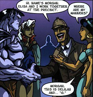slg gargoyles - clan building 4 - masque - meeting of couples mogan elisa goliath delilah