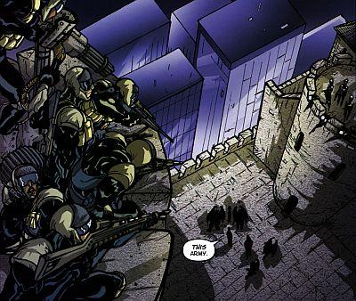 slg gargoyles - clan building 4 - masque - xanatos security forces